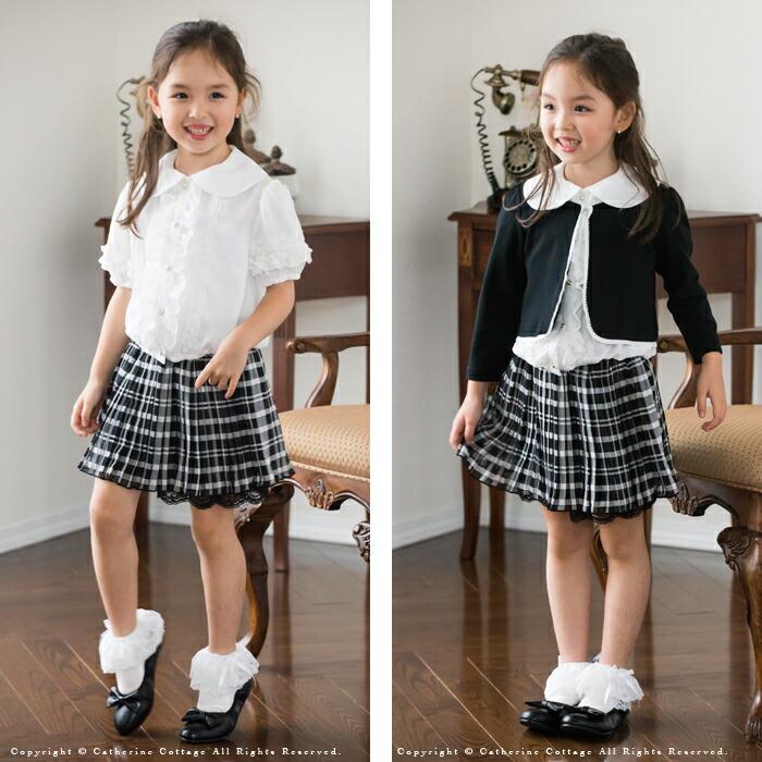 子どもシフォンプリーツスカート