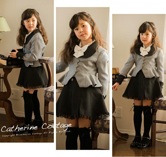 女の子スーツ 七五三 フォーマル子供服