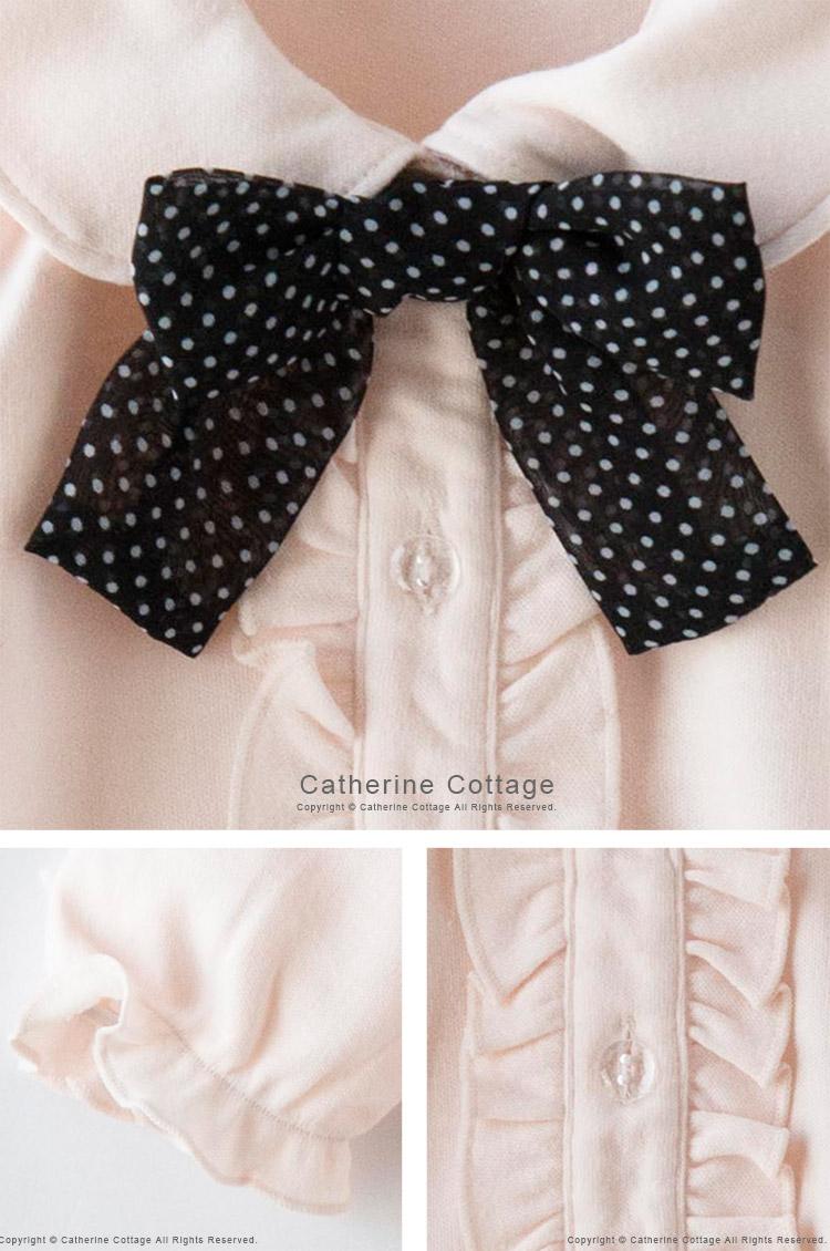 子供 カットソーブラウス 女の子 子ども 入学式 卒園式 衣装 七五三 法事 受験 フォーマル ヒロミチナカノベビー 女児フォーマル
