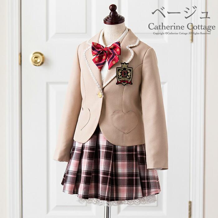 入学式 スーツ ベージュ