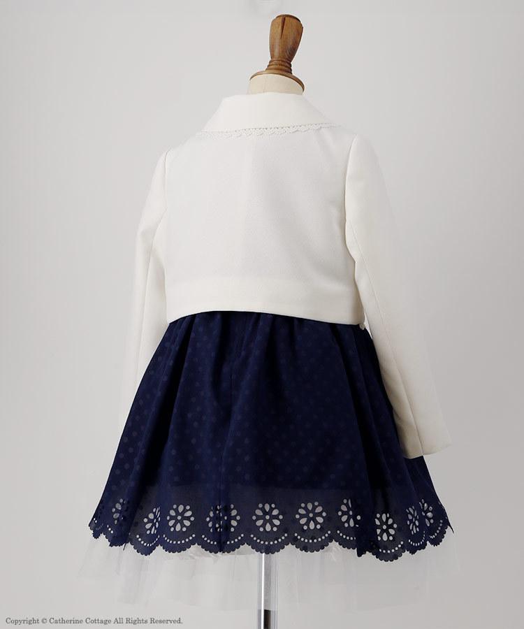 女の子用セレモニースーツ