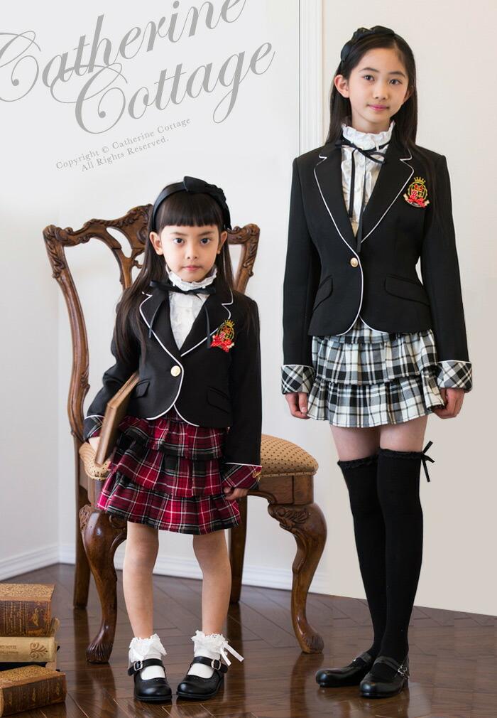 3d6b795d1308e ガールズミニースーツ3点セット ジュニア 女の子 女児 卒業式 スーツ 110 120