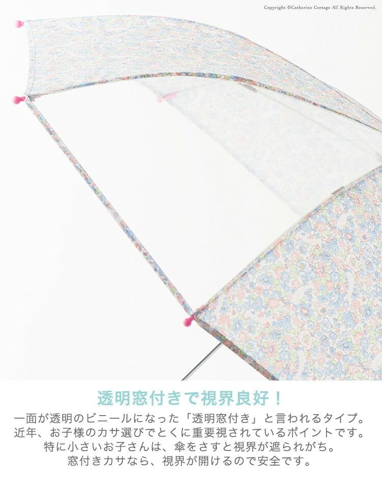 透明窓付き傘