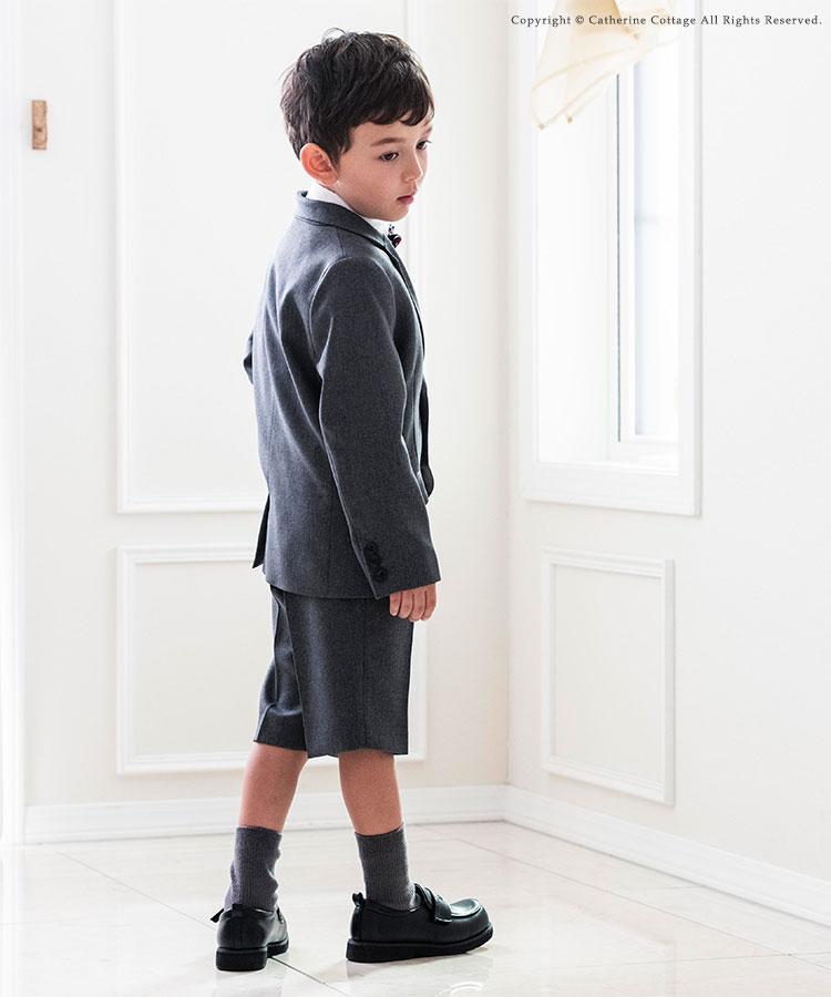 キッズスーツ入学式 男の子ベスト付スーツセット