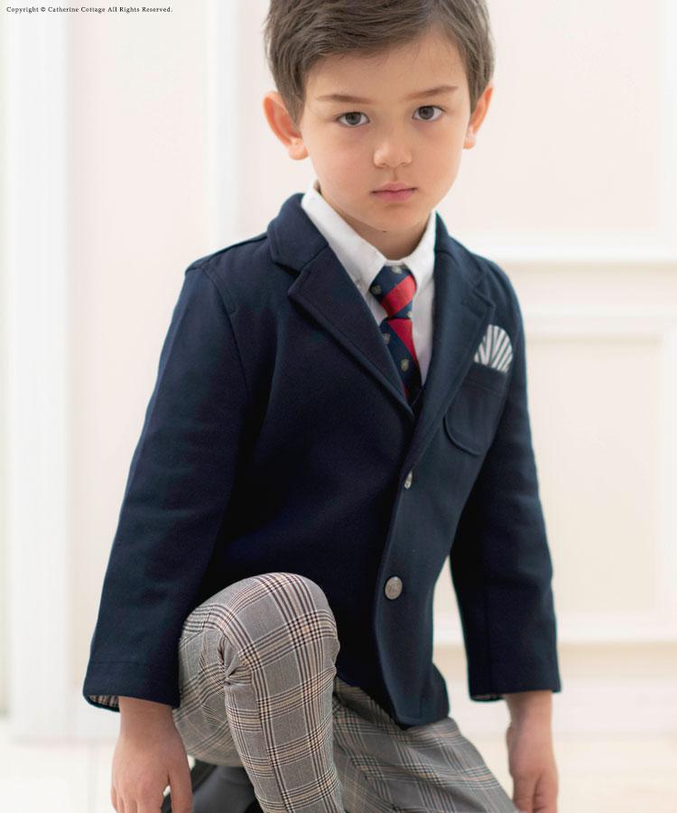 キッズスーツ男の子 おしゃれ子供スーツ3点セット