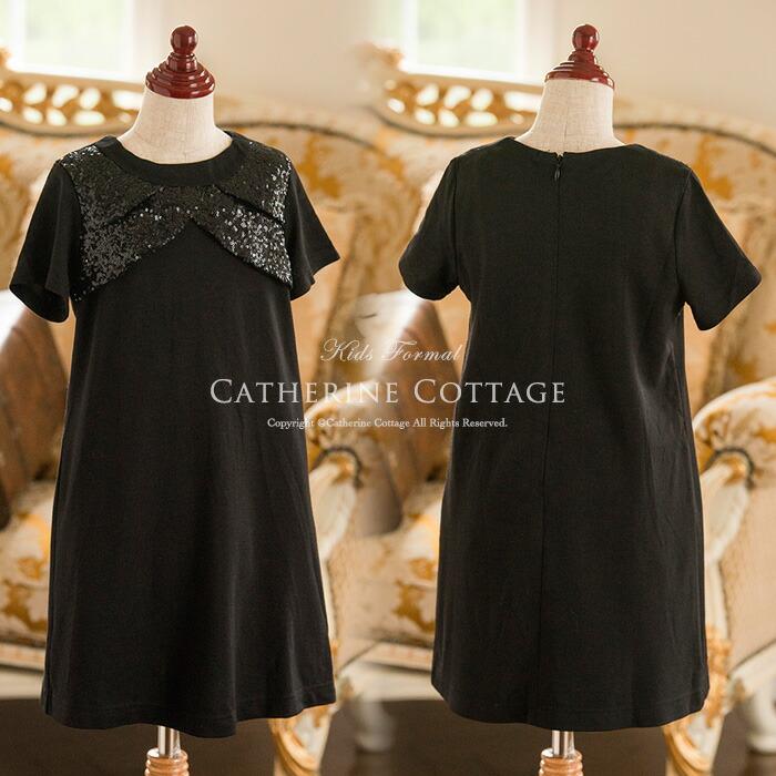 女の子 ワンピース 黒 衣装
