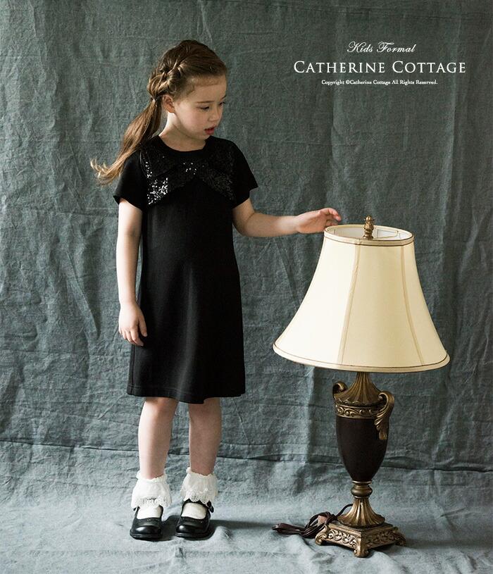 子供ドレス黒