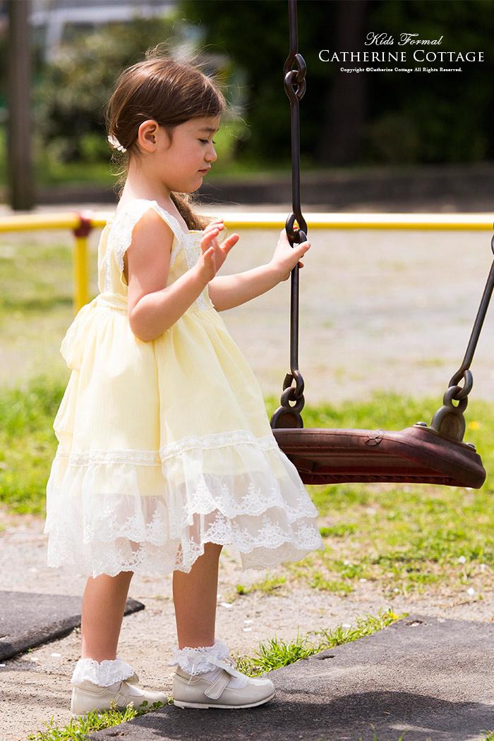 2311e8de4377b 楽天市場 子供ドレス パステルカラー ハート&フラワーレースシフォン ...