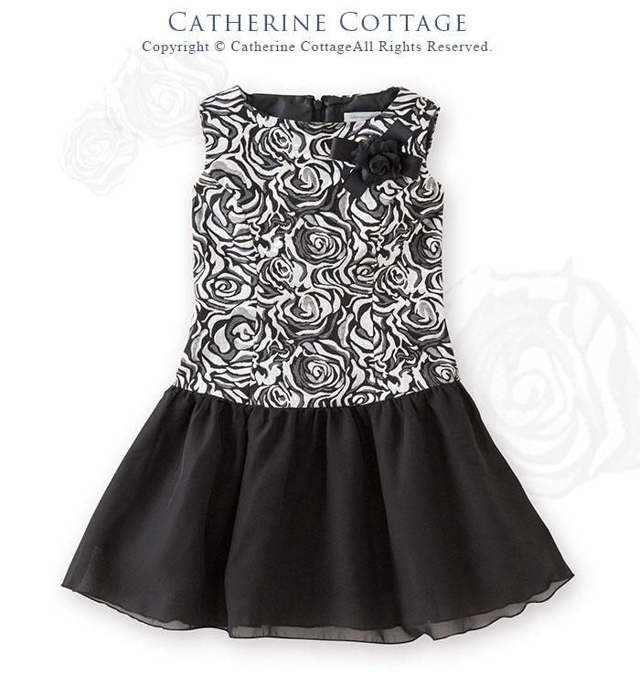 子供ドレス マーガレット ワンピース フォーマル ベージュ お花レース