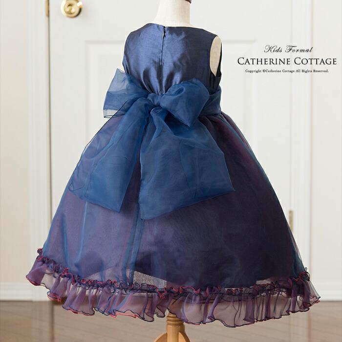 紺色 ドレス