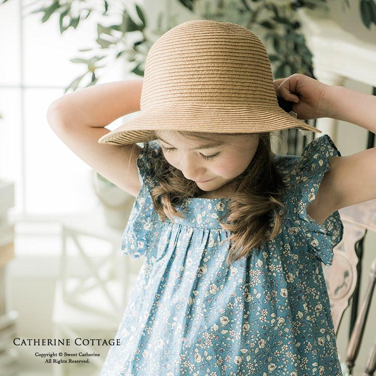 女の子 麦わら帽子 ワンピース