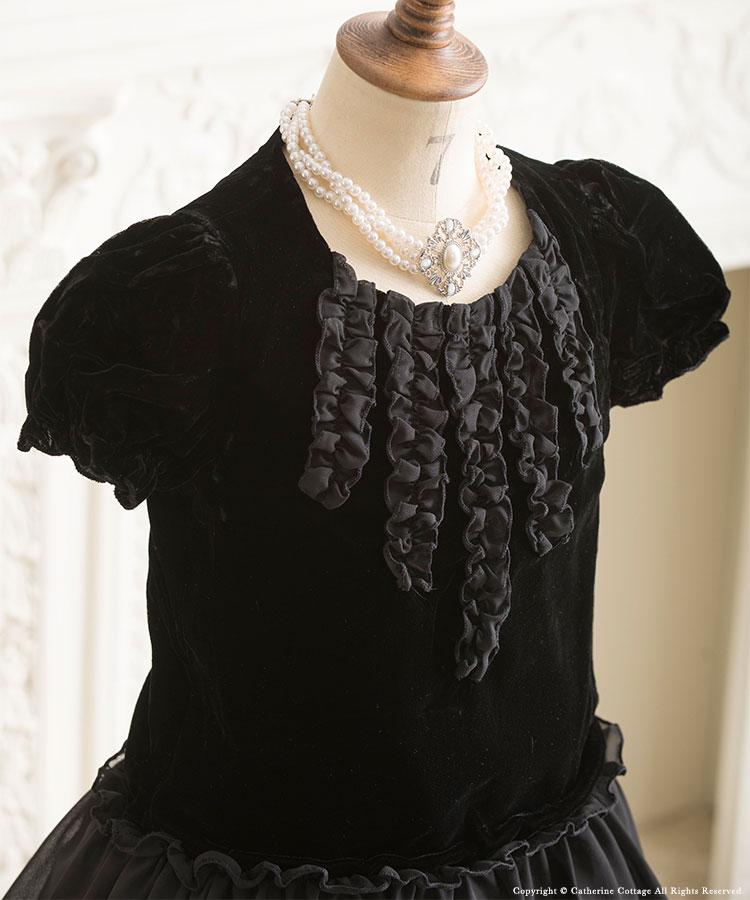 黒 ドレス 小学生