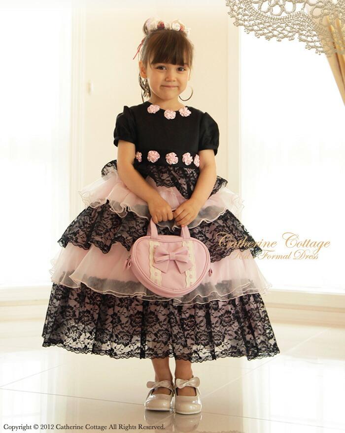 子供ドレスプリンセスレースコンサートドレス子供フォーマルドレス子どもキッズドレス発表会結婚式ワンピースお姫様系姫系
