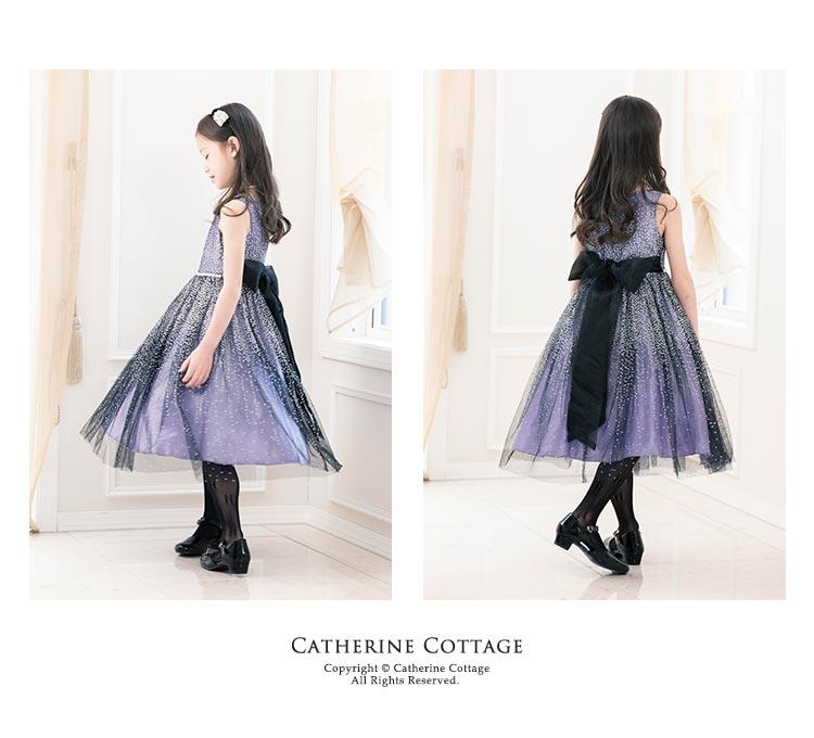 子発表会ドレス ウエストビジューキッズドレス 結婚式