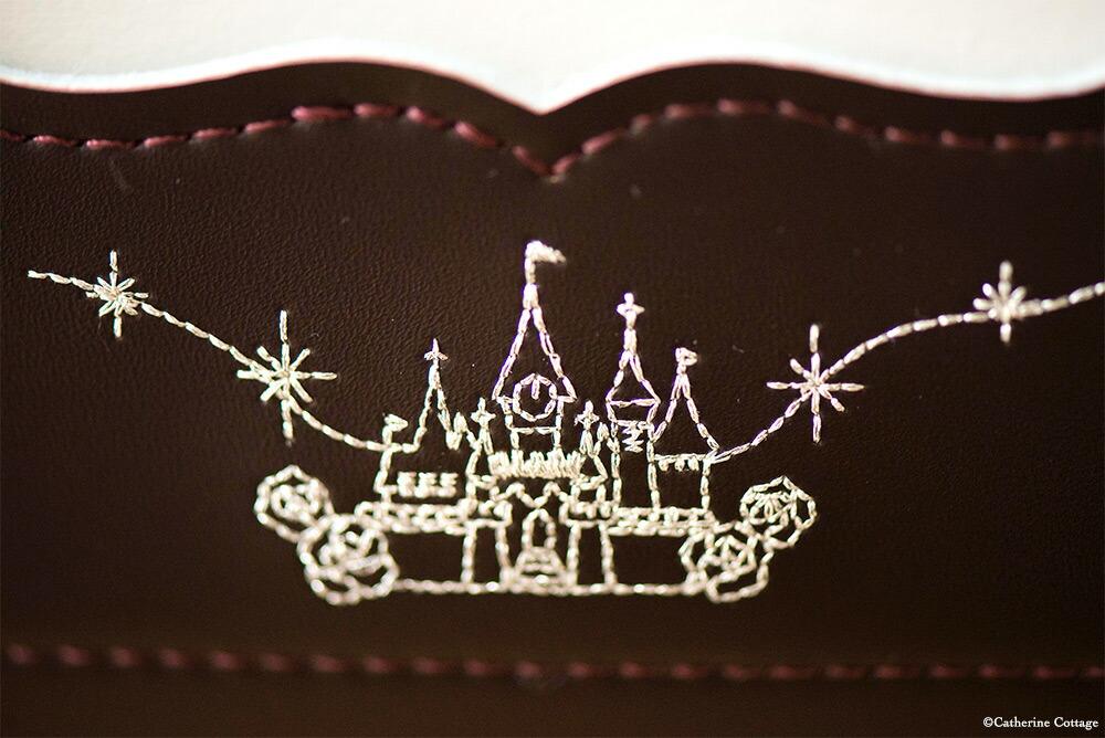 リトルシンデレラのお城刺繍