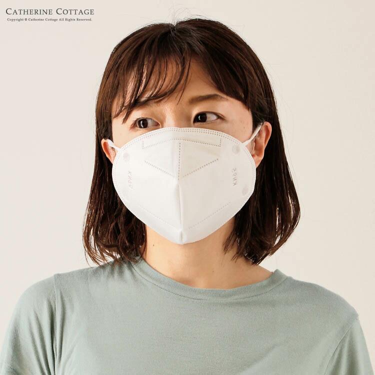 不織布マスク 5層立体構造 大人用 ノーズワイヤー入り