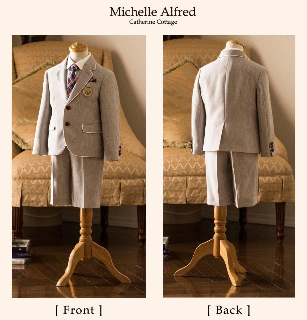 ミッシェル アルフレッド 男児 スーツ