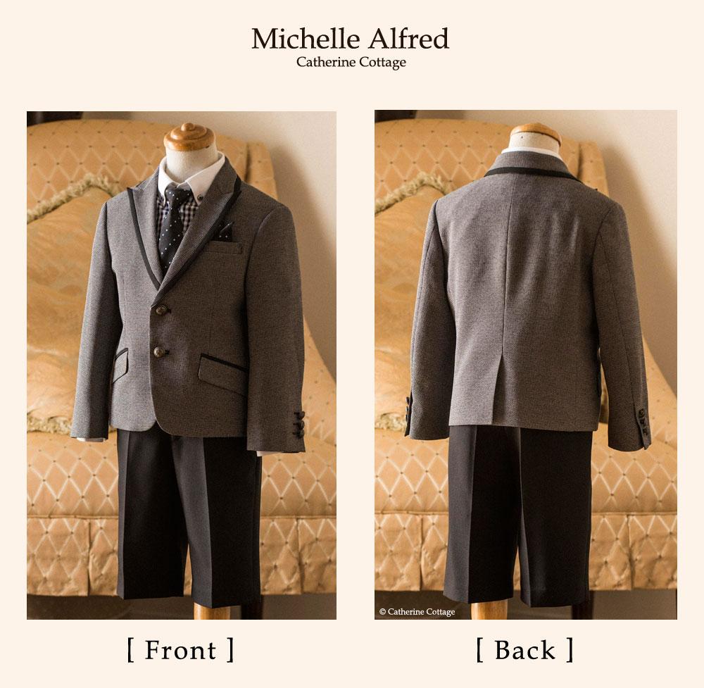 305df9be0fe26 スーツ キッズ ボーイズ 男の子 入学式 ジャケットはパイピング、シャツ・ ...