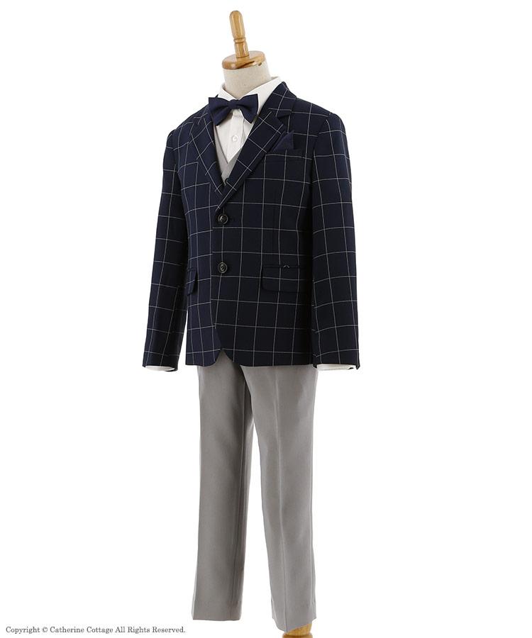 男の子 スーツ 紺色