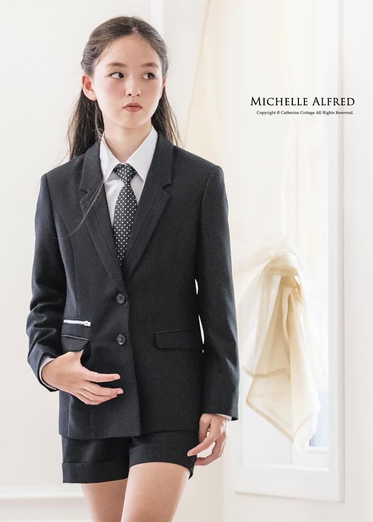 子供スーツ 黒 卒業式 女の子