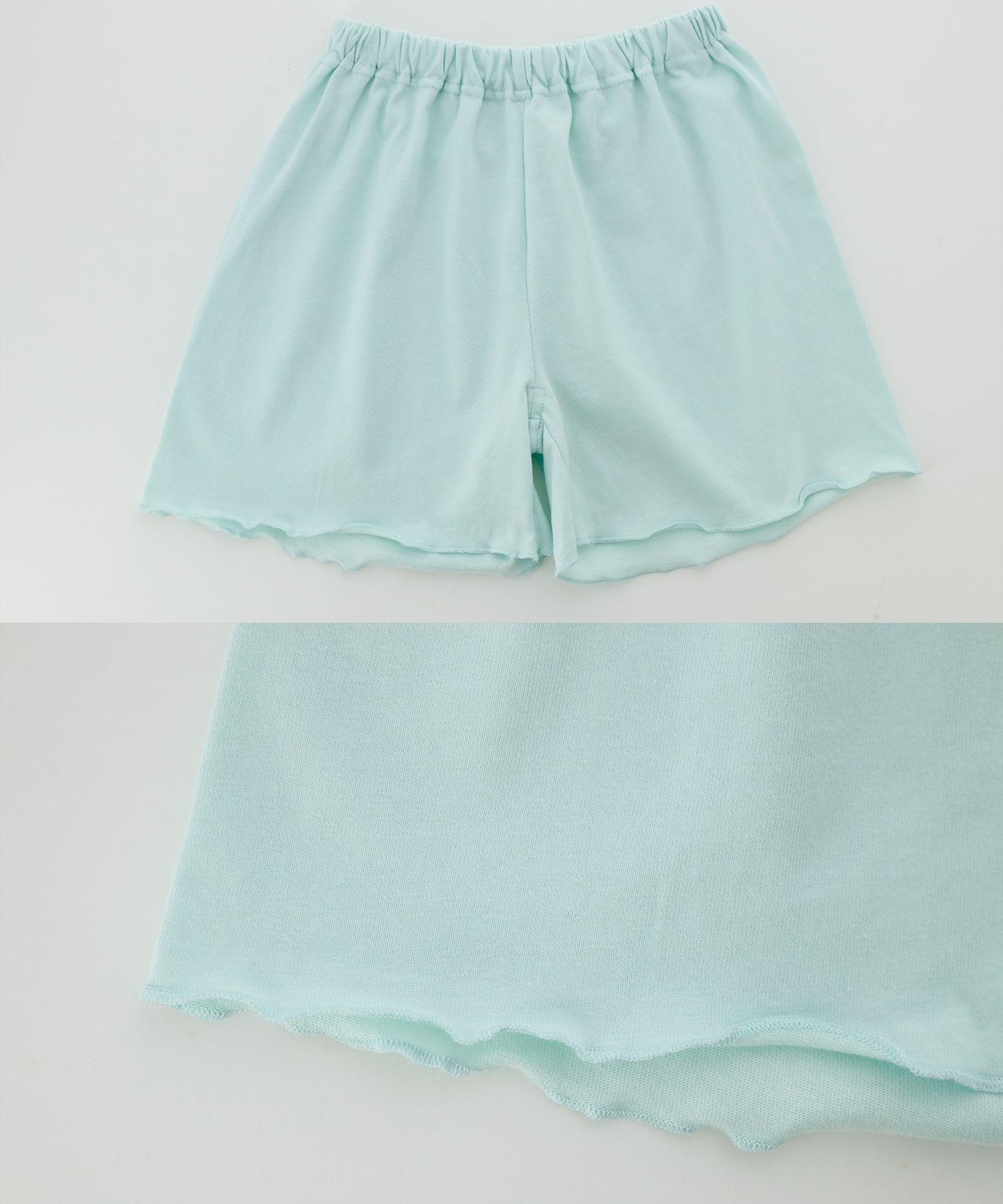 リボン半袖キッズルームウェア