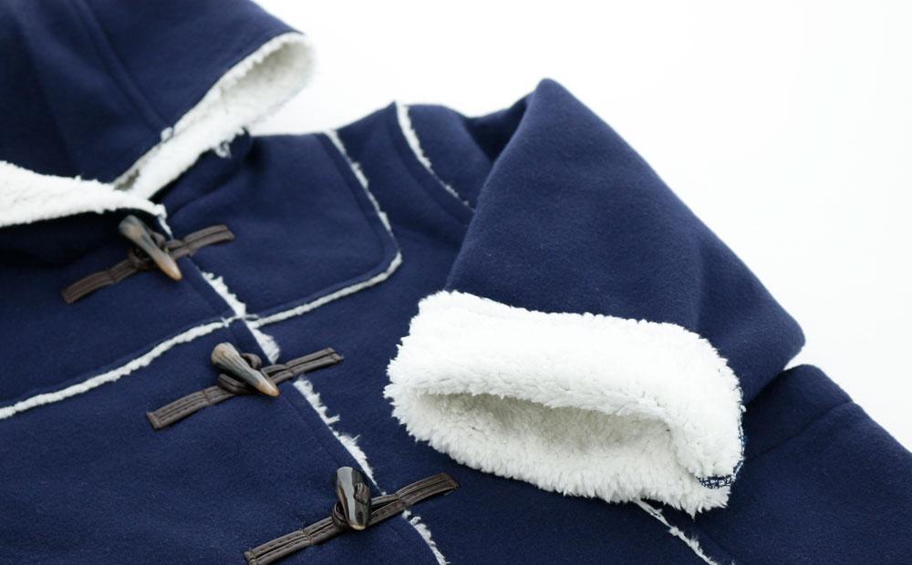 子供服 ボンディング ダッフルコート 女の子 男の子 アウター 防寒
