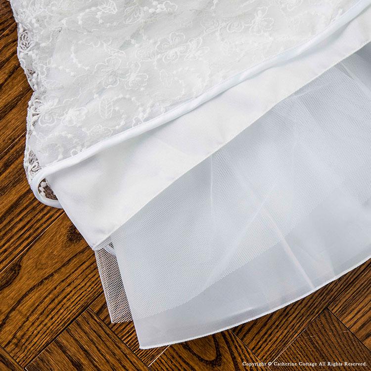 女の子 子供 フォーマルドレス 結婚式 発表会 白 ドレス かわいい