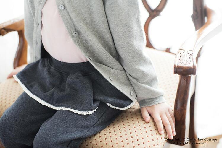 子供服 レギンス 10分丈 女の子 通園 通学 カジュアル 裏起毛 レギンス