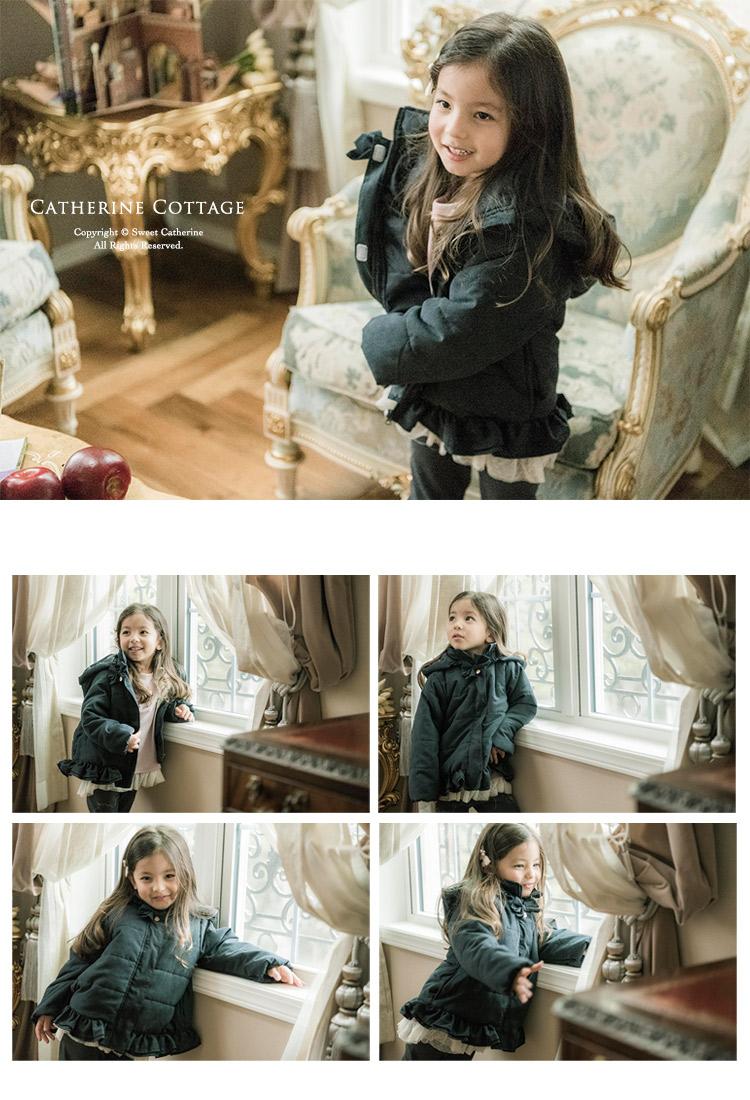 女の子 ダウンジャケット コート
