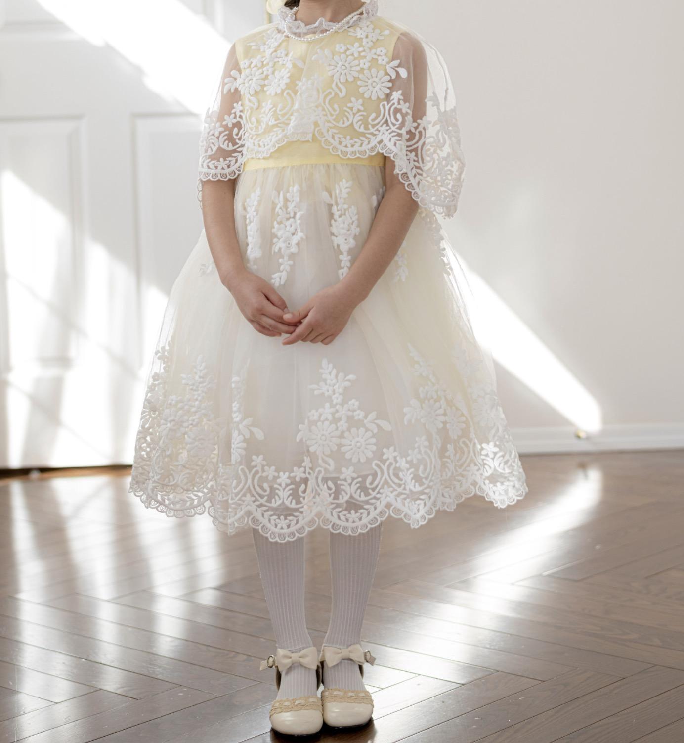 パステルカラードレス
