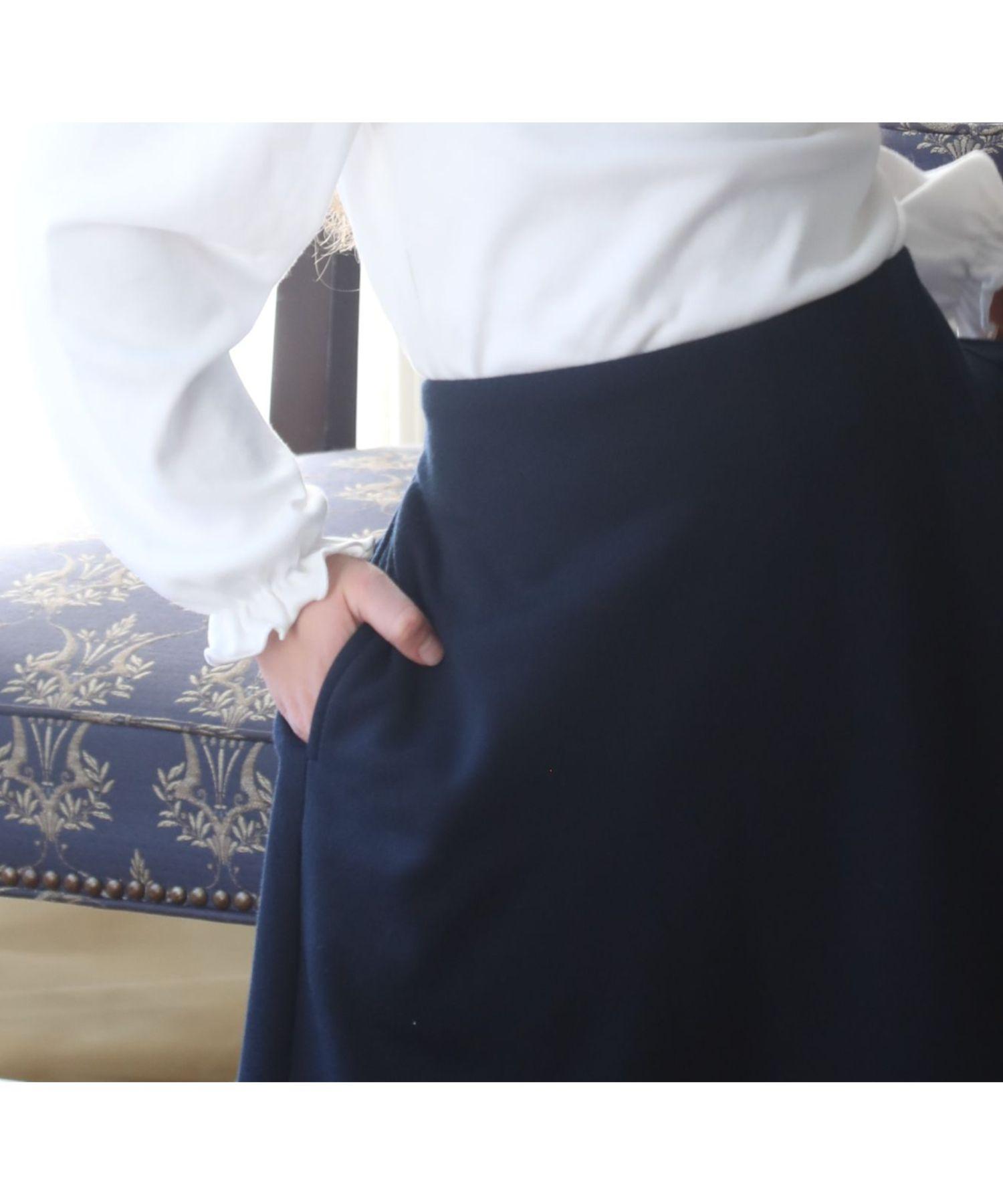 女の子フォーマルキュロットスカート
