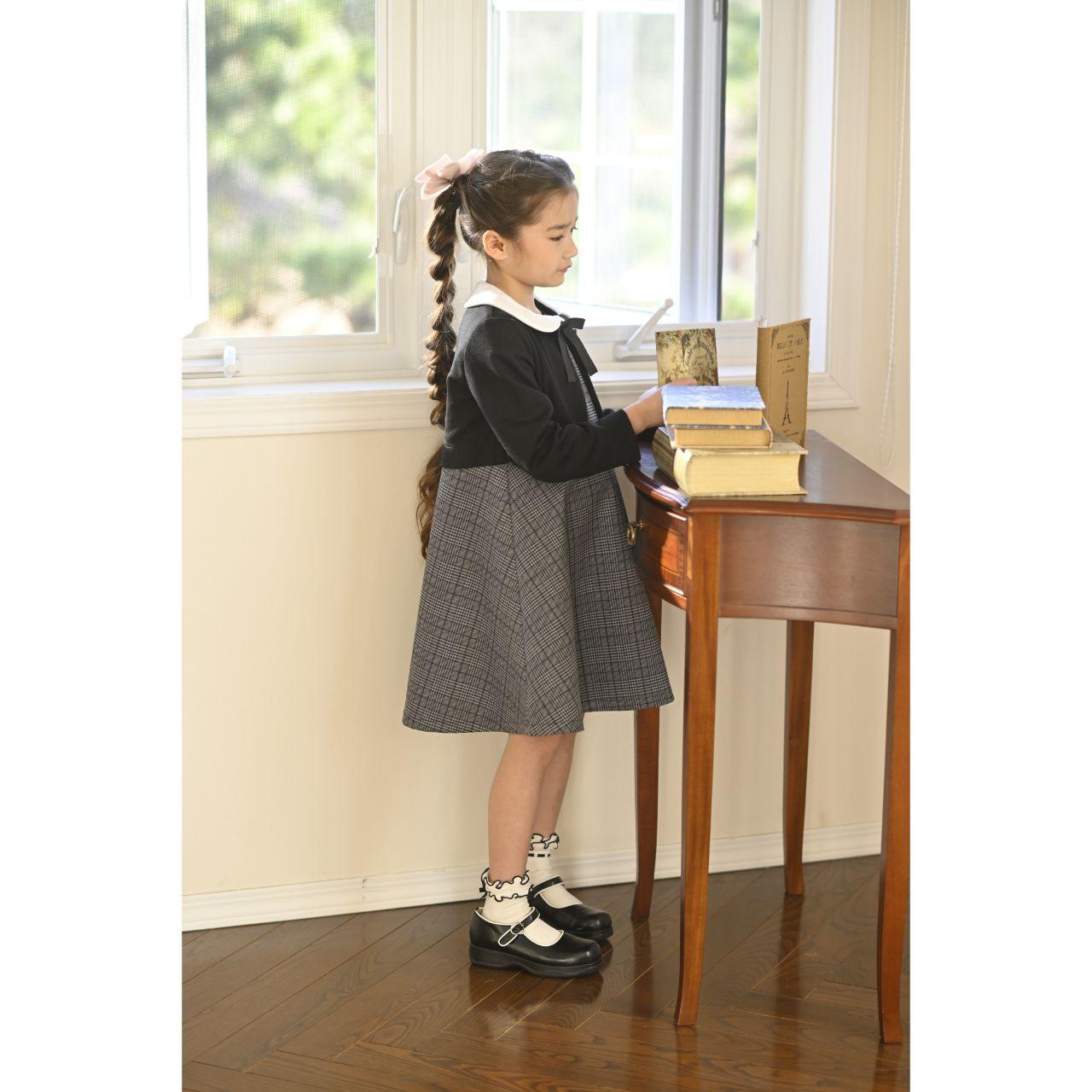 女の子入学式スーツ