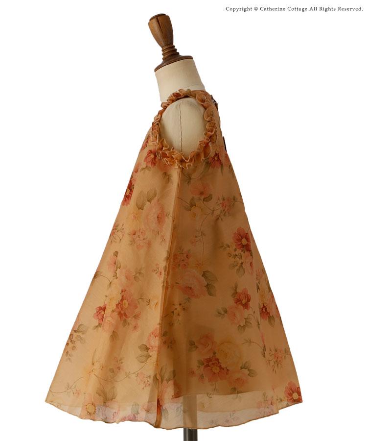 子供ドレス 発表会・結婚式 花柄Aラインドレス ワンピース 女の子