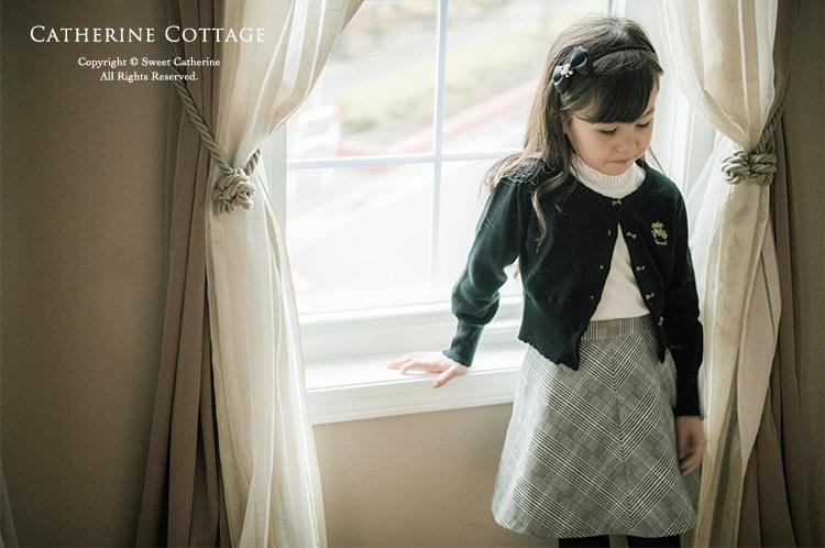 小学校入学式コーディネートの女の子