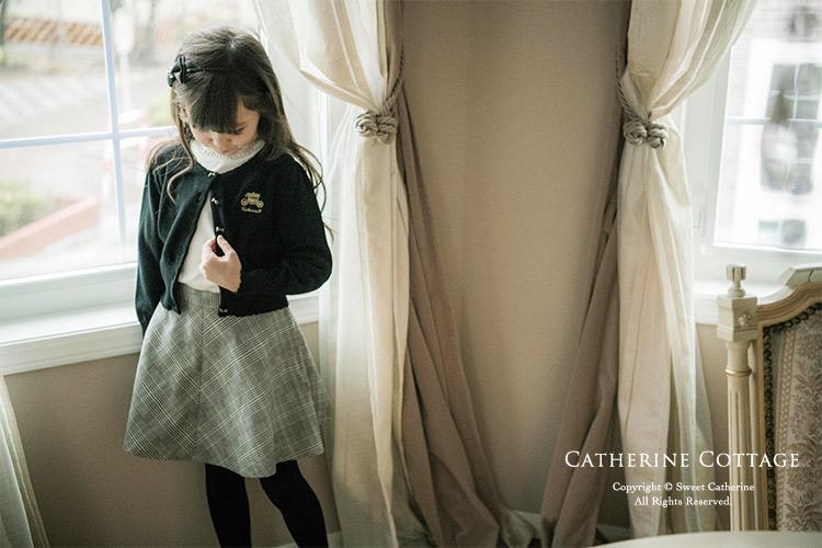 卒園式コーディネートの女の子