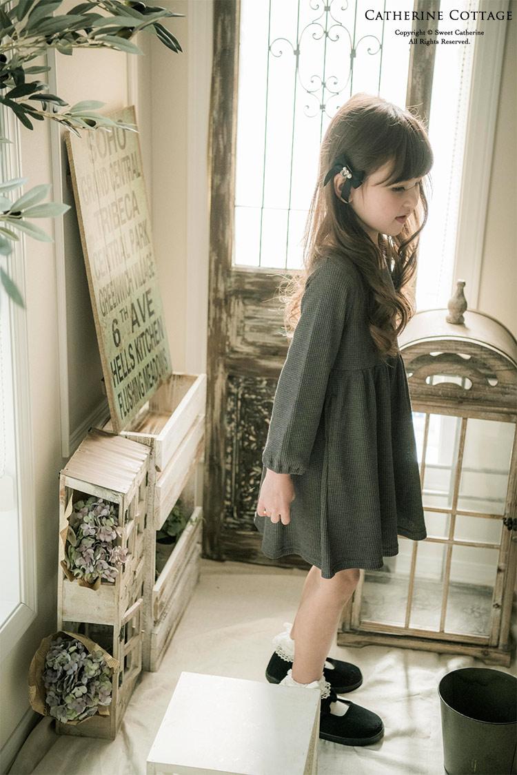 ワンピース 女の子 長袖1