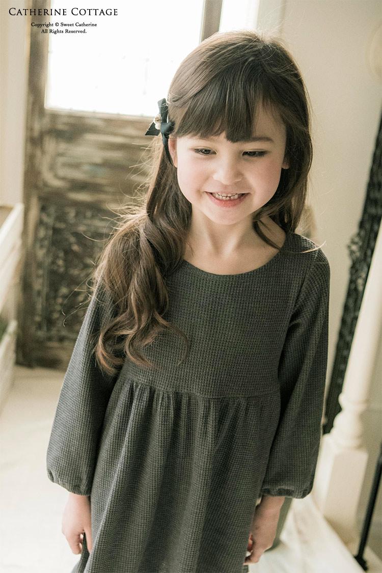 ワンピース 女の子 長袖2