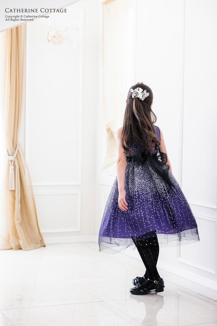 子供 発表会 髪飾り パールフローラルヘアクリップ