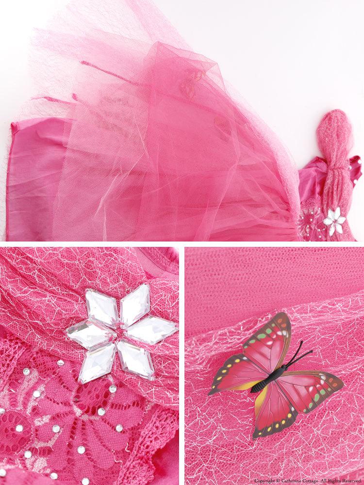 ハロウィン仮装 子供 女の子 プリンセスコスチューム ドレス[110 120 130 140 150 cm 黄色 イエロー ピンク ブルー 水色]ベル風 オーロラ風 シンデレラ風 ハロウィンコスプレ 可愛い キッズ