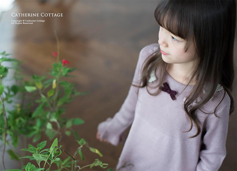 子供服 ニットワンピース かわいい