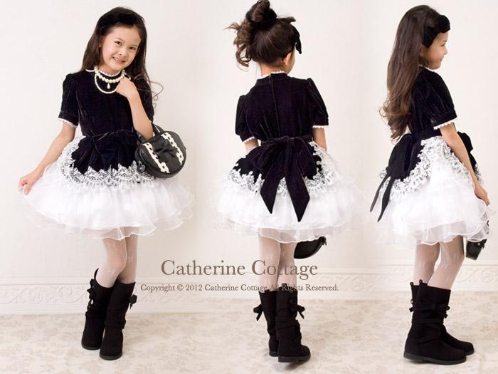子供ドレス ベロア