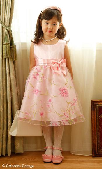 【楽天市場】仕様変更前☆子どもドレス子供ドレス 発表会 柄プリントのオーガンジードレス 結婚式 発表会 七五三 こどもドレス 子どもドレス ワンピース  フォーマル