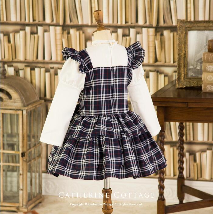 ブラックイングリッシュローズドレス