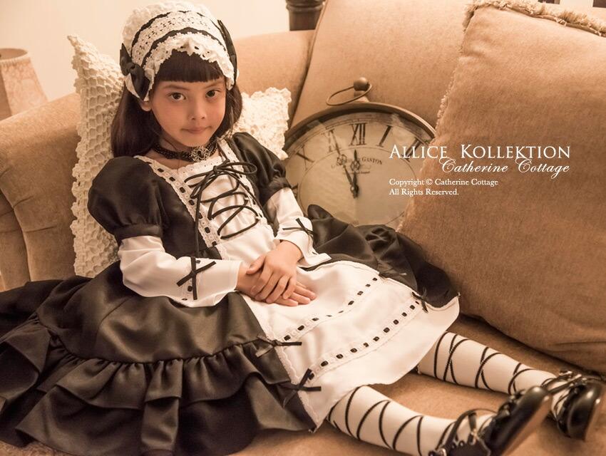 ゴスロリ ロリィタ ロリータ 黒ロリ アリスコレクション キャサリンコテージ 子供服 子供ドレス