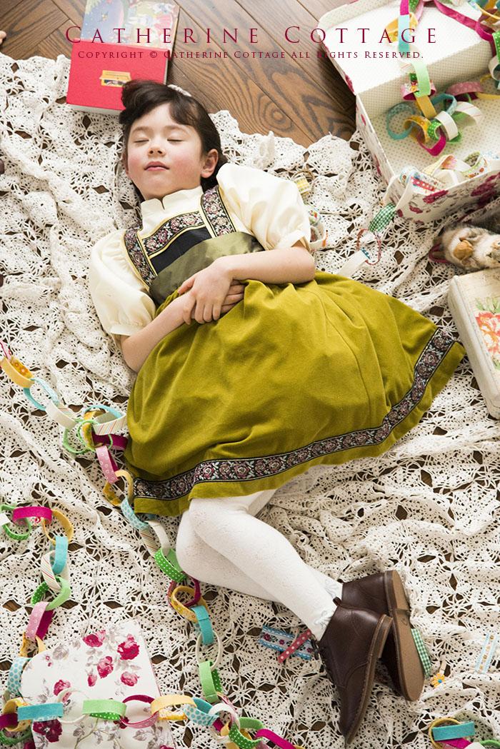 トドラーアナ風ドレス