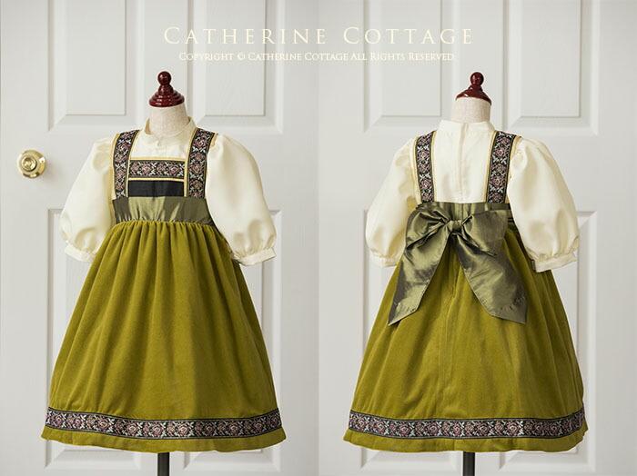 民族調アナ風ドレス