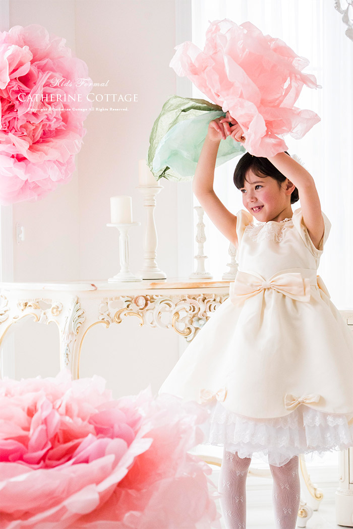 フラワーガール 子供ドレス