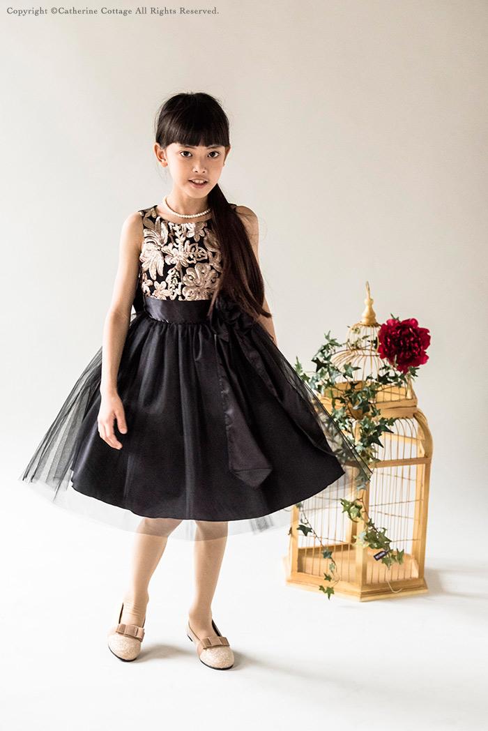 子供ドレス 黒