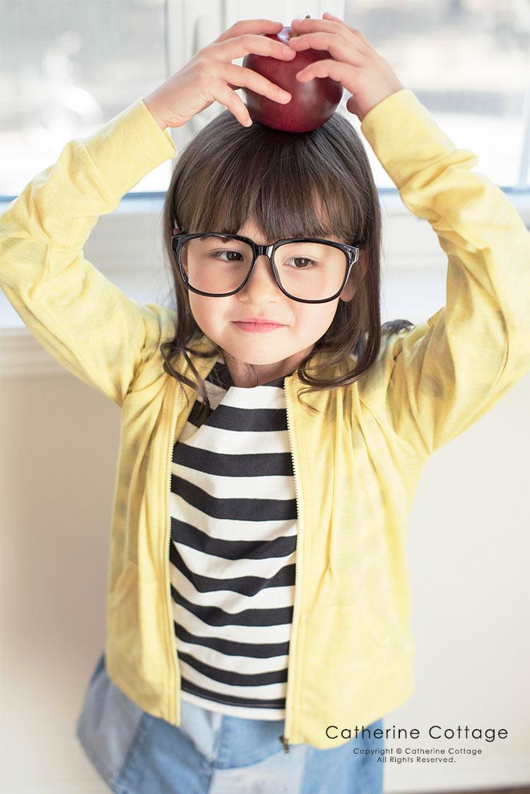 子供服 UVカット薄手長袖カーディガン 男女兼用 レディース
