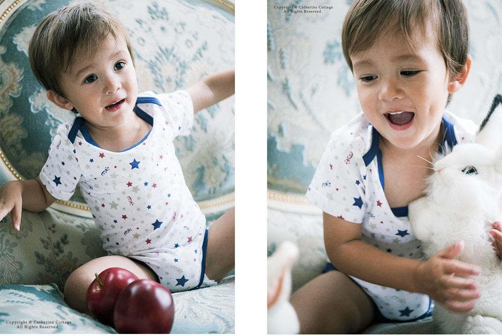 ベビー ロンパース肌着 ボディースーツ 男の子 女の子 半袖 70 80 90 95cm 新生児 1才 2才 カジュアル